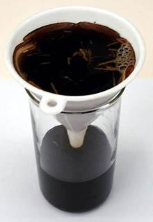 Как фильтровать раствор гумата