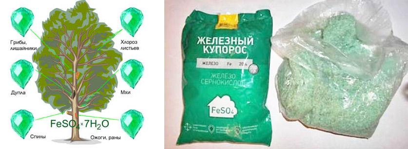 Железный купорос и его применение в агрикультуре