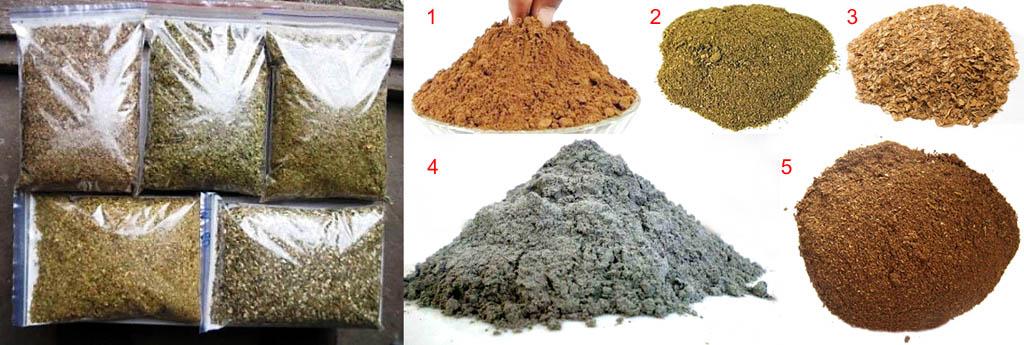 Формы выпуска сухой табачной пыли для самостоятельного приготовления препаратов из нее