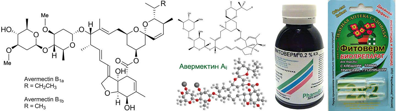 Модификации действующего вещества Фитоверма