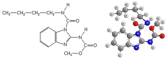 Химическая формула действующего вещества фундазола