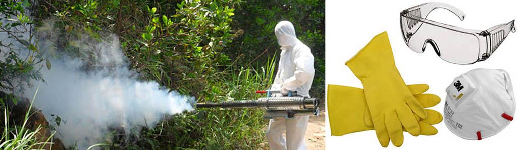 Средства индивидуальной защиты при работе с инсектицидом Моспилан