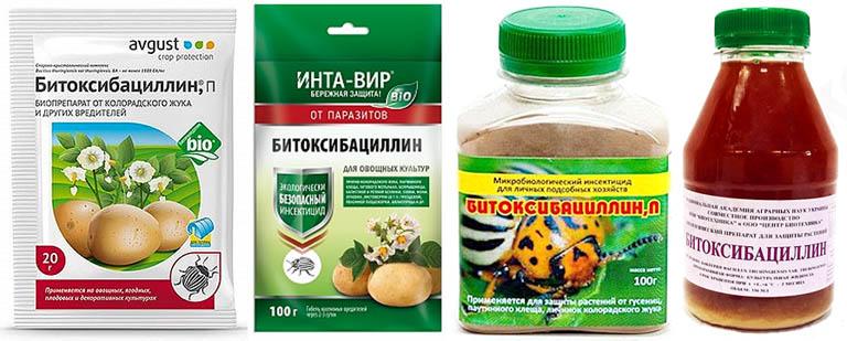 Препаративные формы выпуска битоксибациллина