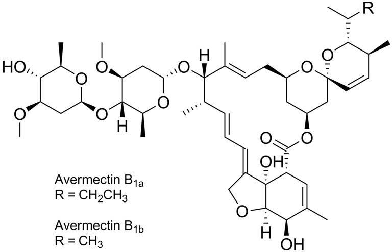 Обобщенная химическая формула авермектинов