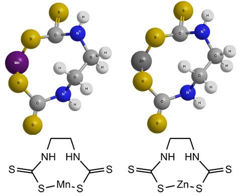 Химическая формула вещества манкоцеб