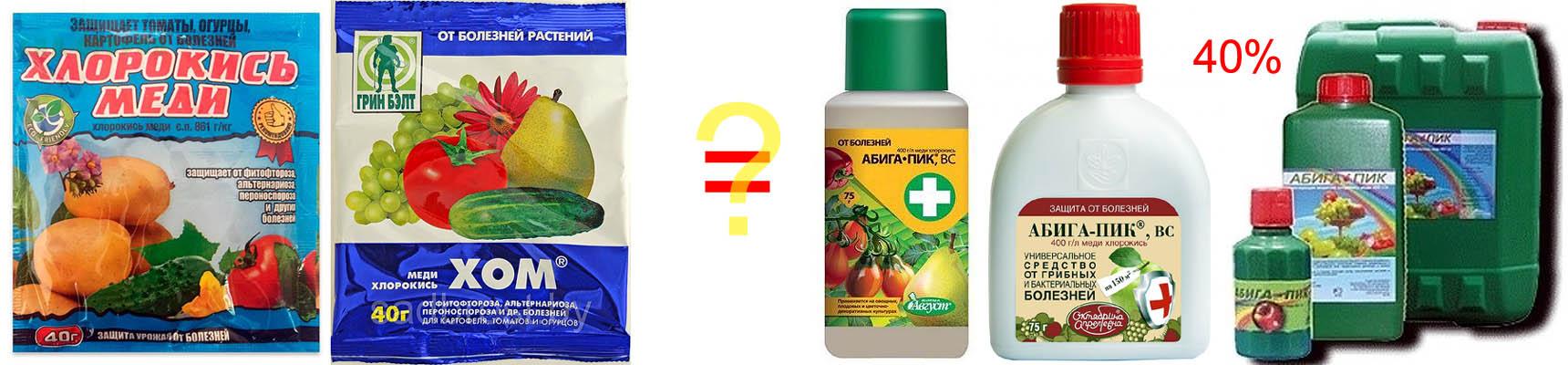Пестицид Абига Пик и его действующее вещество