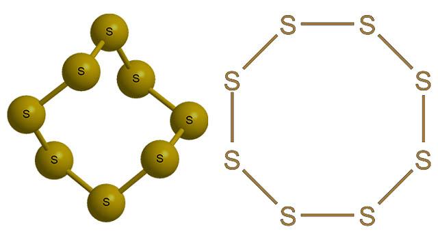 Химическая формула действующего вещества пестицида Тиовит Джет