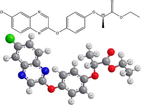 Химическая формула хизалофоп-П-этила