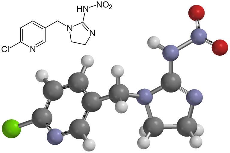 Химическая формула имидаклоприда