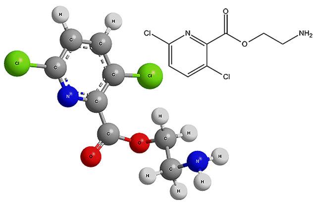 Химическая формула клопиралида