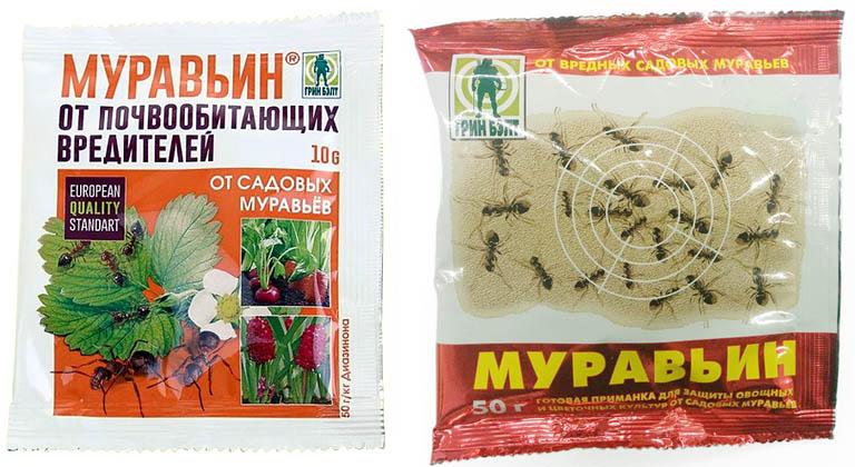 Приманный направленный инсектицид Муравьин