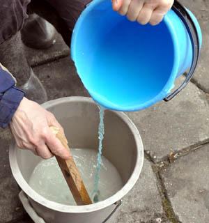 Приготовление бордосской жидкости