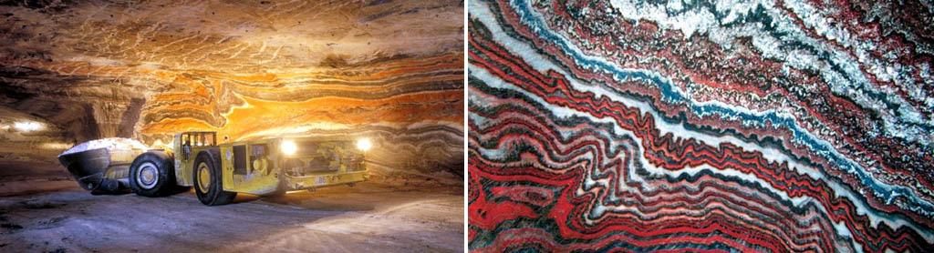 Калийные минералы в природе