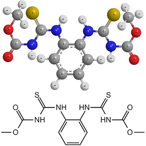 Химическая формула тиофанат-метила