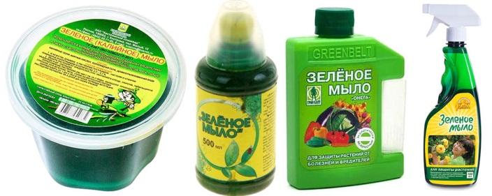 Зеленое (калиевое) мыло для применения в личных подсобных хозяйствах