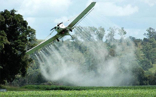 Авиаобработка пестицидами