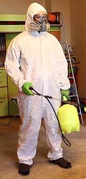 Средства индивидуальной защиты для работы с пестицидом Ципертрин